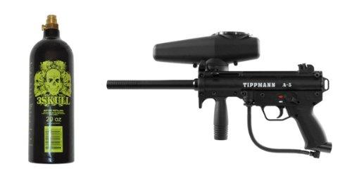 Tippmann Sprocket - Tippmann A-5 Paintball Marker Gun & 20oz Tank