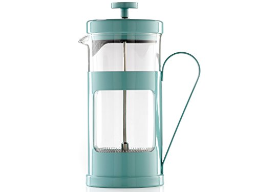 La Cafeteiere Monaco Retro Blue 8 Cup French Press Coffee Maker by CreativeTops by CreativeTops