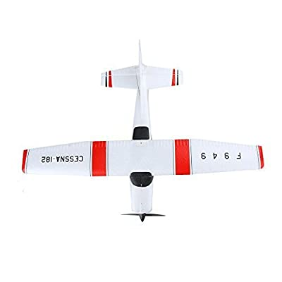 KKmoon F949 2.4G 3Ch RC Airplane Fixed Wing Plane Outdoor toys Drone