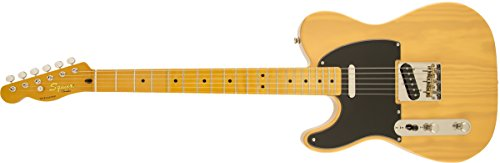 Squier by Fender Classic Vibe 50's Telecaster Electric Guitar - Vintage Blonde - Maple Fingerboard