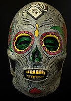 Trick or Treat Studios Day Of The Dead Zombie Mask, Multi, One Size ()