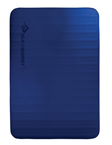 Car Delta Mats - Sea to Summit Comfort Deluxe Si Mat - Double - Self-Inflating Camping & Backpacking Sleeping Mat, Blue