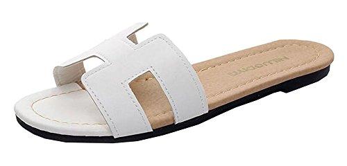 Zapatillas antideslizante ducha sandalias casa piscina zapatos