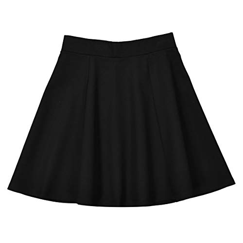 La Redoute Collections Skater Skirt, 10-16 Years Black Size 12 Years (150 cm) - La Redoute Skirt
