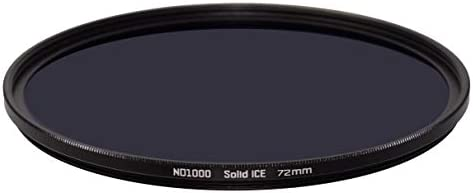 Solid ICE 耐衝撃 72mm ND1000 フィルター ニュートラルデンシティーND 10ストップ 強化光学ガラス