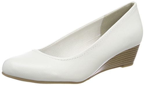 Marco Tozzi Damen 22308 Pumps Weiß (White)
