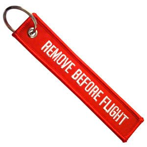 Price comparison product image Remove Before Flight Key Chain Aviation ATV UTV Motorcycle Pilot Crew Tag Lock