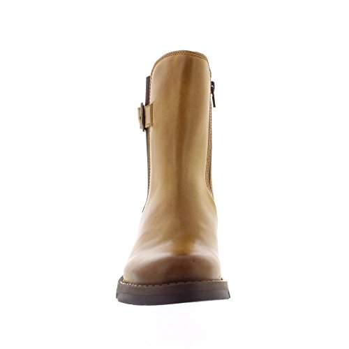 FLY London Salp - Camel Rug (Brown) Womens Boots