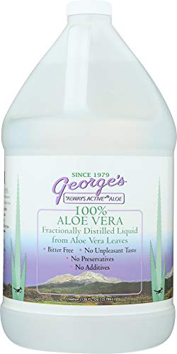 StarSun Depot Aloe Vera Liquid, 128 oz