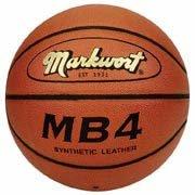 合成レザーWideチャネルバスケットボールからMarkwort B0001H1VP0