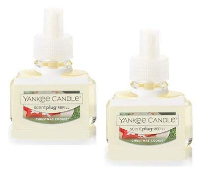 (Yankee Candle 2 Pack Christmas Cookie ScentPlug Refill)