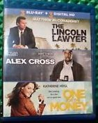The Lincoln Lawyer / Alex Cross / One for the Money