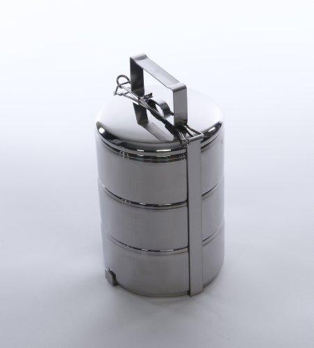 Zebra Stainless Steel Food Carrier (14 cm) ()