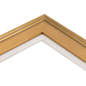 2857ba735d7 Image Unavailable. Image not available for. Color  Creative Mark Plein Air  Gold Wooden Picture Frame with Linen Liner ...