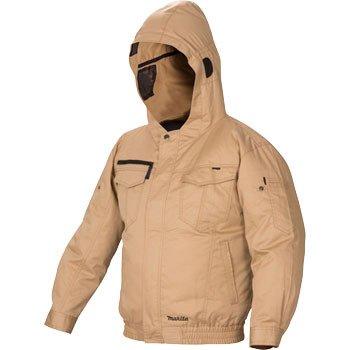 マキタ 充電式ファンジャケット 綿+ポリエステル フード付 FJ501DZ3L B071L7X3Z6