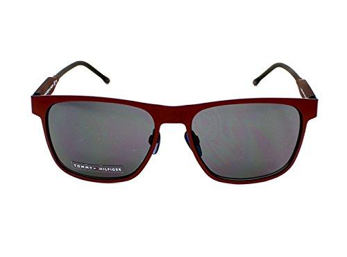 75e407f654c8 Tommy Hilfiger TH 1394 S R1BIR (Matt Red - Blue with Black lenses) - Buy  Online in Oman.