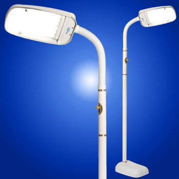 Bluemax 70w Floor Dimmable Floor Lamp (White) by BlueMax