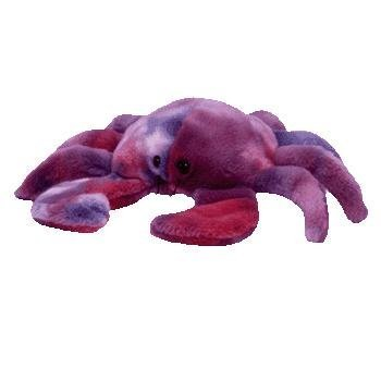 - TY Beanie Buddy - DIGGER the Crab (Ty-Dyed Version)