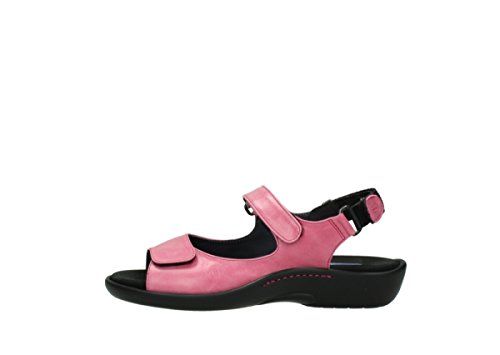 Wolky Sandals 1300 Salvia 30660 Cyclame Leather xhoEzWT