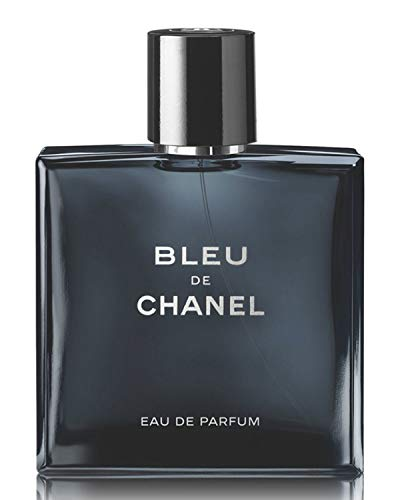 NIB New BLEU DE C H A N E L Eau de Parfum Pour Homme Spray, 1.7 oz./ 50 mL + Free Sample Gift! (Bleu De Chanel Eau De Toilette Spray 50ml)