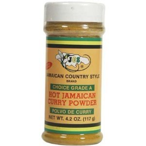 Hot Jamaican Style Curry Powder-special Blend