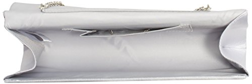 Satin Chain Silber and Women's Rhinestones Berydale Clutch Silver Additional with Tq5Sf0wR