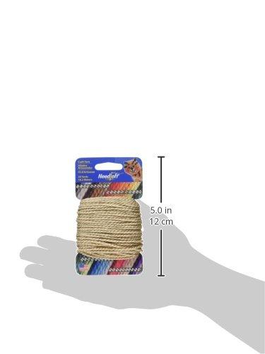 Cottage Mills Needloft Craft Yarn 20 Yards-Sandstone by Cottage Mills (Image #2)