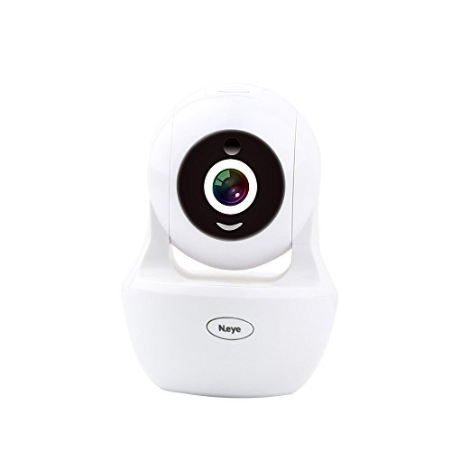 Wireless Camera 1080P HD Monitor Home Dome Camera Pet Monitor WiFi Mobile Phone Outdoor Monitor Indoor Night Vision 360° Panorama(White)