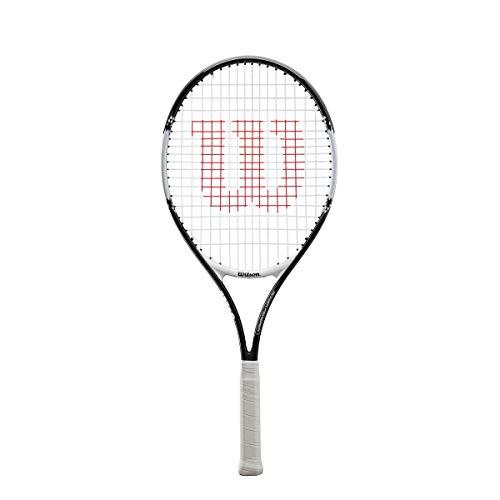 Wilson Raqueta de Tenis Unisex Roger Federer Negro/Rojo 23 a buen precio