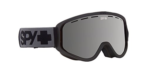 Spy Optic Woot 313346374207 Snow Goggles, One Size (Matte Black Frame/Silver - Lenses Spy Goggles