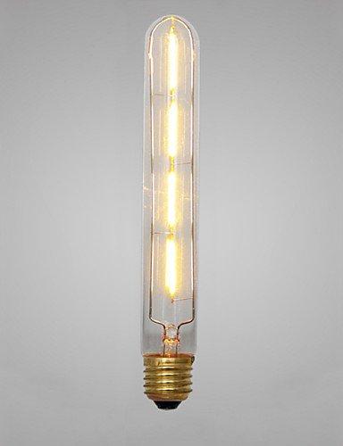 Vintage Retro ZSQ artístico 4xCOB 4W E27 2300K Lámparas LED Industrial LED Bombilla incandescente (AC220V) #6317: Amazon.es: Iluminación