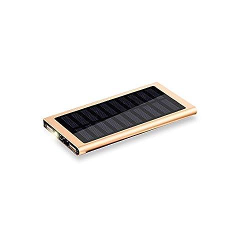 20.000 mAh Bater/ía Externa Solar KawKaw Ultraslim