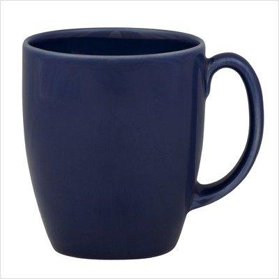 Corelle Livingware 11-Ounce Stoneware Mug, Cobalt