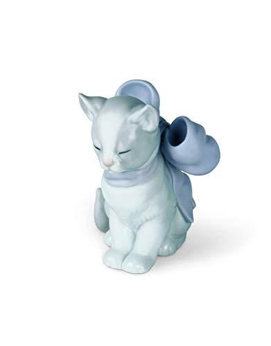 NAO Kitty Present Porcelain Figurine