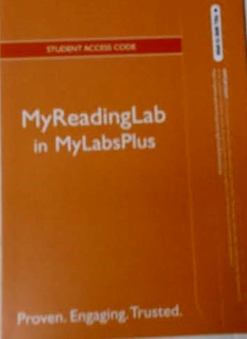 MyReadingLab in MyLabsPlus Student Access Code PDF