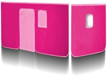 SixBros. Vorhang Pink für Hochbett - VH-1037