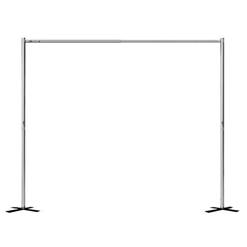 Portable Pipe and Drape Backdrop Kit 8ft x 10ft (no drape)