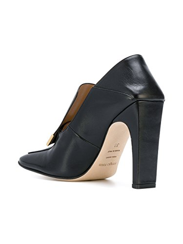 Escarpins Noir Femme Cuir A78940MNAN071000 Rossi Sergio 5qYfwxXtP