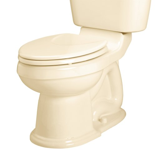 - American Standard 3101.016.021 Oakmont Champion-4 Right Height Elongated Toilet Bowl, Bone, Seat Not Included