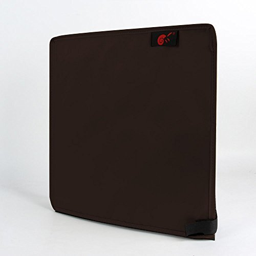 Hermitshell Dust Proof Cover with soft velvet lining for Sony Playstation 4 PS4 Game Console Sleeve Color: coffee vertical Style (Sony Dust Cover)