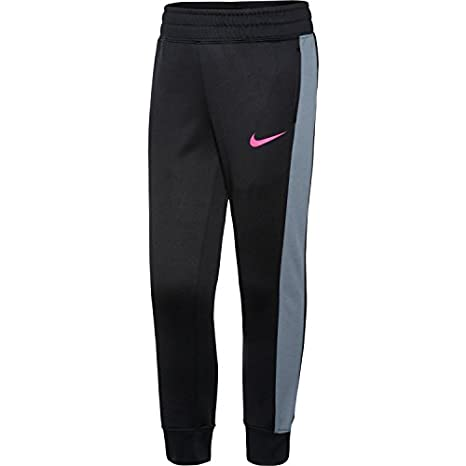 c1488c01025cb Amazon.com: Nike Little Girls' KO 3.0 Fleece Pants (Black, 6X ...