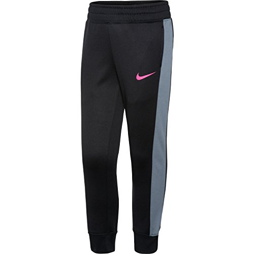 Nike Little Girls' KO 3.0 Fleece Pants (Black, 6X) by NIKE