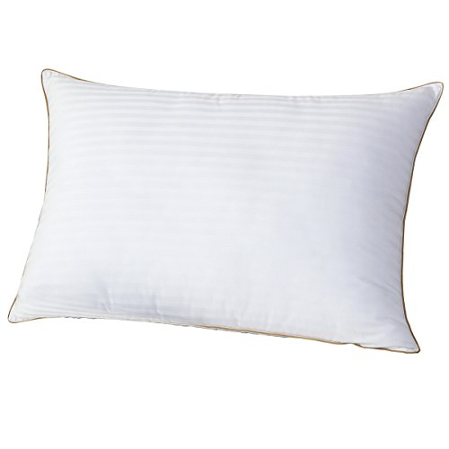 Luxury 90% White Goose Down Pillows for sleeping queen-100% Egyptian Cotton Ultra Soft