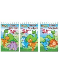 dinosaur mini spiral notebooks - ideal childrens party loot bag filler by AbbeyShake by AbbeyShake