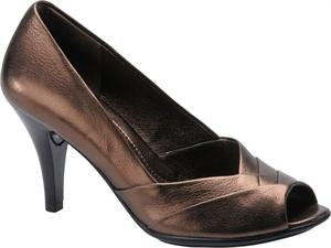 Sofft Soft Womens Galilee Smog Leather Pump (8 W)