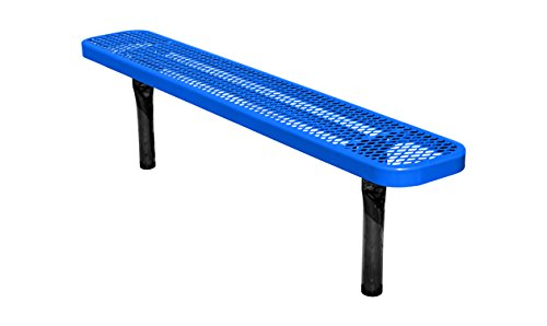 6' Backless Bench - 5