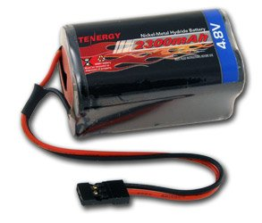 Receiver 4.8v Pack (4.8V 2000mAh NiMH Square Receiver RX Battery for RC Airplanes)