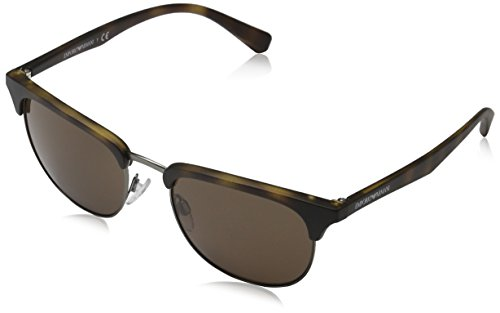 Emporio Armani EA4072 508973 Matte Havana EA4072 Aviator Sunglasses Lens Catego -