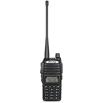 Pofung UV-82 Dual-Band 136-174/400-520 MHz FM Ham Two-way Radio