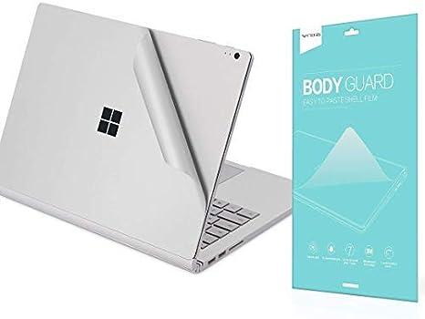 Vfeng Premium 4 In 1 3m Full Body Skin Aufkleber Decals Dekorative Schutzfolie Für Microsoft Surface Book 3 13 5 Zoll 13 5 Zoll 13 Zoll 2020 Version Silber Küche Haushalt